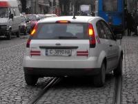 контрол по транспорта в забранена за минаване улица